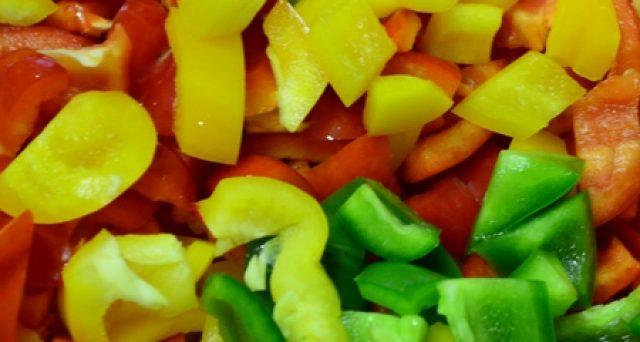 Loupaná a balená zelenina