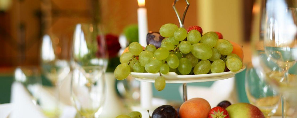 Okouzlete svatební hosty dekoracemi z ovoce a zeleniny
