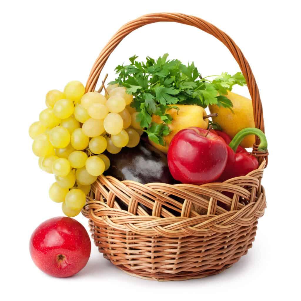 koš ovoce